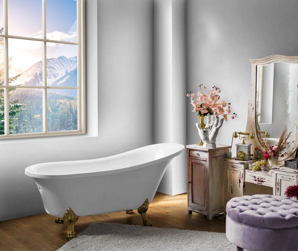 salle de bain après retouche