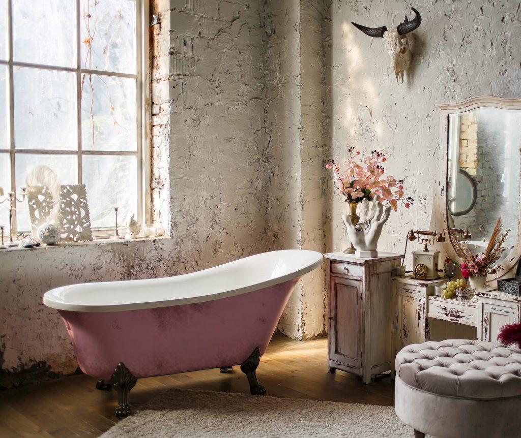 salle de bain avant retouche